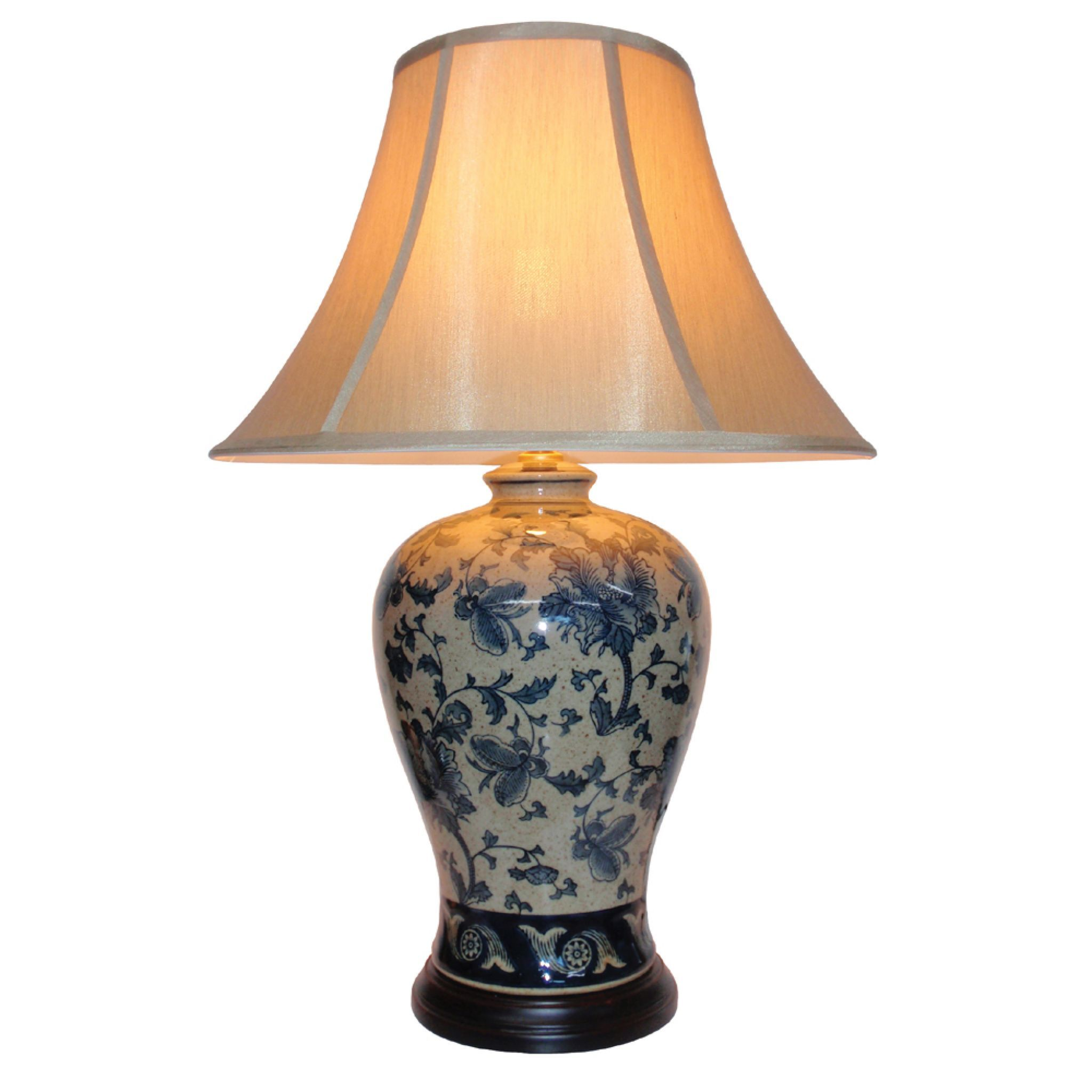 table touch glass lamps lamp ore white brushed dp floral gold amazon international com